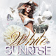 White Sunrise Flyer PSD Template - GraphicRiver Item for Sale
