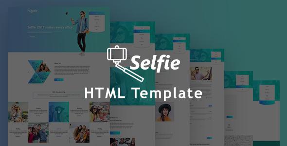 Selfy - Best Photography Website Templates