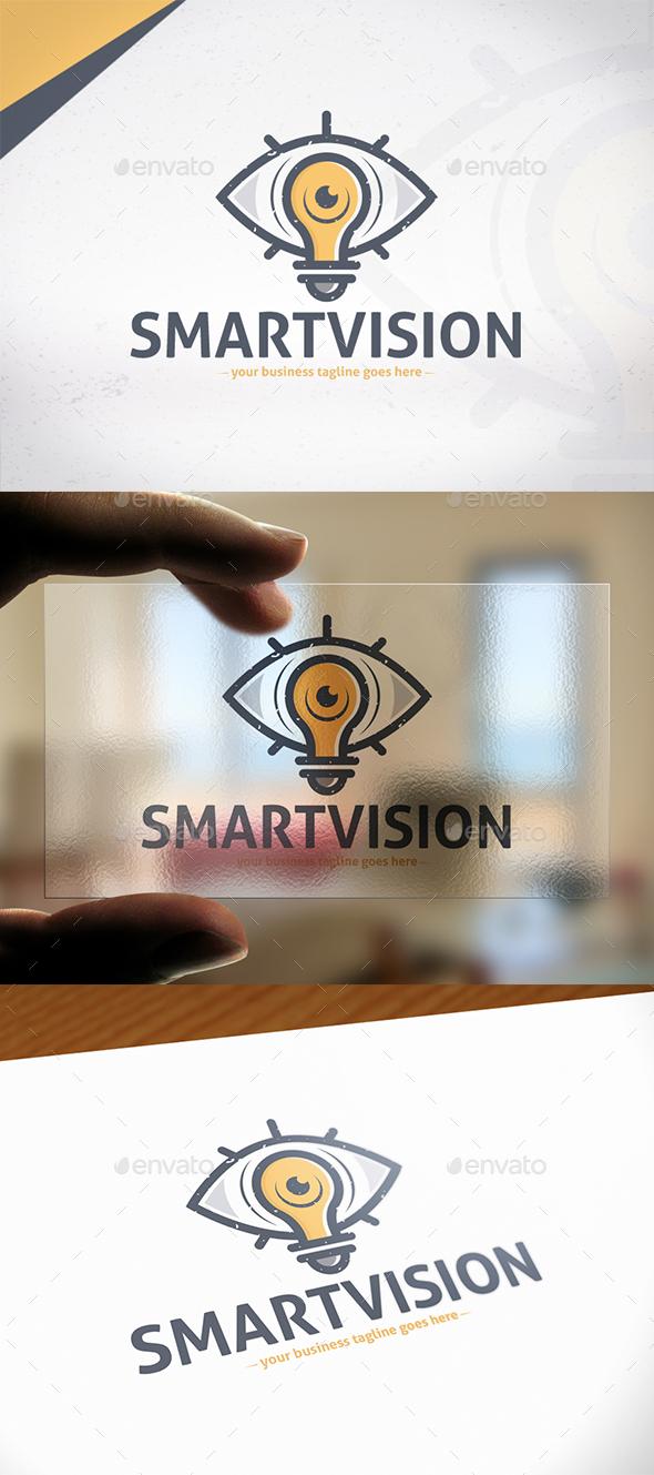 Smart Vision Logo Template