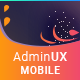 AdminUX Mobile | Responsive HTML Template - ThemeForest Item for Sale