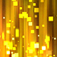 Abstract Gold Square Particles Glitter Polar Lights Background - VideoHive Item for Sale