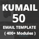 Kumail - 50 Email Template (400+ Modules) + Stampready Builder - ThemeForest Item for Sale