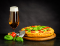 Beer and Pizza - PhotoDune Item for Sale
