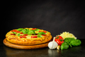 Fresh Tasty Pizza with Ingredients - PhotoDune Item for Sale