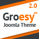 Groesy - Responsive Multi-Purpose Joomla Template - ThemeForest Item for Sale