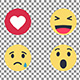 Facebook Emoji Smileys - VideoHive Item for Sale