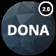 DONA - Creative Multi-Purpose Parallax Template - ThemeForest Item for Sale
