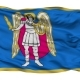 Kiev City Isolated Waving Flag - VideoHive Item for Sale