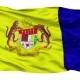Putrajaya City Isolated Waving Flag - VideoHive Item for Sale