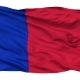 Paris City Isolated Waving Flag - VideoHive Item for Sale