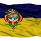 Tegucigalpa City Isolated Waving Flag - VideoHive Item for Sale