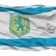 Jerusalem City Isolated Waving Flag - VideoHive Item for Sale