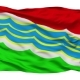 Tiraspol City Isolated Waving Flag - VideoHive Item for Sale