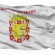 Panama City Isolated Waving Flag - VideoHive Item for Sale