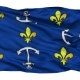 Port Louis City Isolated Waving Flag - VideoHive Item for Sale