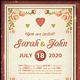 Wedding Invitation [Vol.3] - GraphicRiver Item for Sale