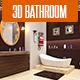3D Bathroom Design 2 - 3DOcean Item for Sale