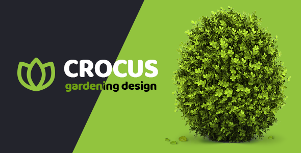 Crocus - Gardening and Landscape Design Company HTML Template
