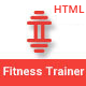 FitnessTrainer - Responsive Bootstrap Template - ThemeForest Item for Sale