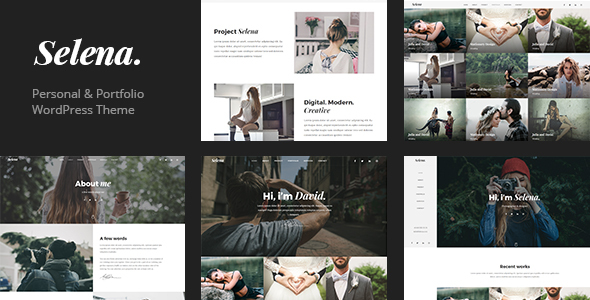 Selena. - Multipirpose WordPress Theme