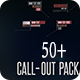 50+ Call-Out Toolkit Package - VideoHive Item for Sale