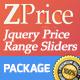 ZPrice - Jquery Price Range Sliders - CodeCanyon Item for Sale