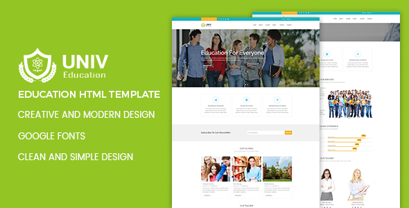 Univ - Education HTML Template