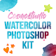 Watercolor Kit For Photoshop - GraphicRiver Item for Sale