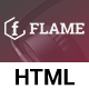 Flame - Multipurpose Corporate, Business, Agency HTML5 Template - ThemeForest Item for Sale