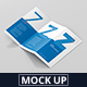 DL Z-Fold Brochure Mockup - 99x210mm - GraphicRiver Item for Sale