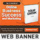 Ebook Banner Ad Template - GraphicRiver Item for Sale