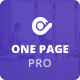 One Page Pro - Multipurpose WordPress - ThemeForest Item for Sale