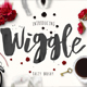 Wiggle Watercolor brush script - GraphicRiver Item for Sale