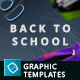 Back To School - 10 Hero Image Templates - GraphicRiver Item for Sale