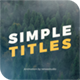 30 Simple Titles - VideoHive Item for Sale