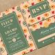 Watercolor Wedding Invitation & RSVP - GraphicRiver Item for Sale