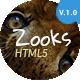 Zooks - Zoo, Cinema, Museum, Comedy Club, Circus & Aquarium HTML5 Template - ThemeForest Item for Sale