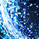Abstract Dark Blue Particles Glitter Spiral Background - VideoHive Item for Sale