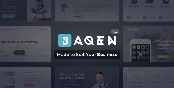 Jaqen | Business Email Set