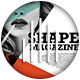 Simple Shape Magazine - GraphicRiver Item for Sale