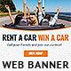 Car Rental Web Banner Ad - GraphicRiver Item for Sale