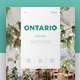 Ontario Magazine - GraphicRiver Item for Sale