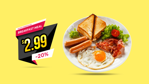 After Effects Food & Drink Promo Templates from VideoHive