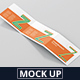Z-Fold Brochure Mockup - Landscape Din A4 A5 A6 - GraphicRiver Item for Sale