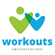 Workouts Logo - GraphicRiver Item for Sale