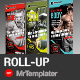 Gym Roll-up - GraphicRiver Item for Sale