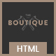 Boutique - Multipurpose eCommerce Template - ThemeForest Item for Sale