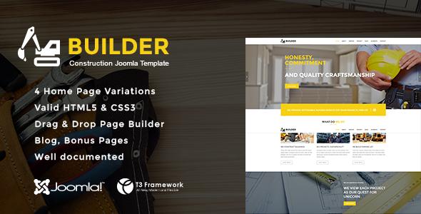 Builder - Joomla Construction Template