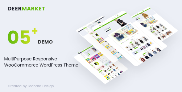 DeerMarket - Multipurpose Responsive WooCommerce WordPress Theme