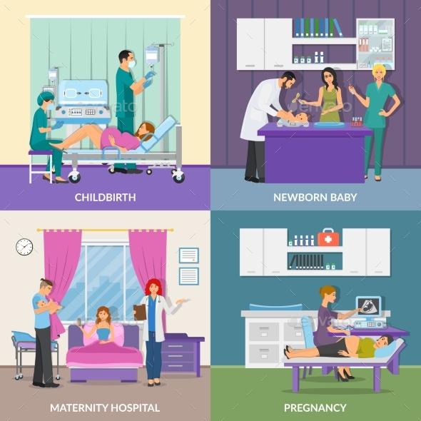 Maternity Hospital 2X2 Design Concept